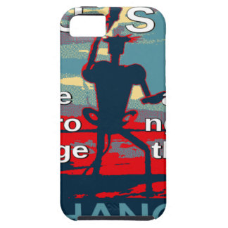 Hillary Clinton latest campaign slogan for 2016 Tough iPhone 5 Case