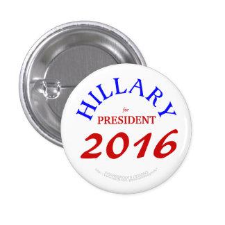 Hillary for President 2016 3 Cm Round Badge