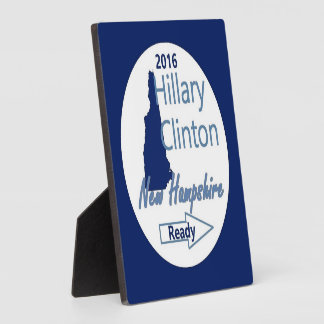 Hillary NEW HAMPSHIRE 2016 Plaque