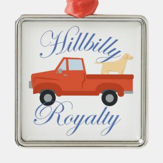 Hillbilly Royalty Christmas Ornament