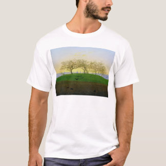 Hills and Ploughed Fields near Dresden T-Shirt