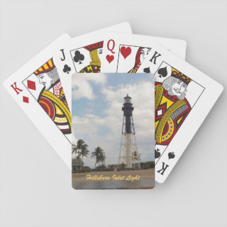 Hillsboro Inlet Light Tower Custom Playing Cards