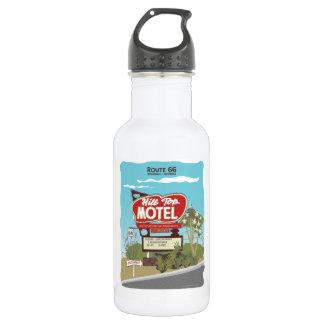 Hilltop Motel on Route 66 532 Ml Water Bottle