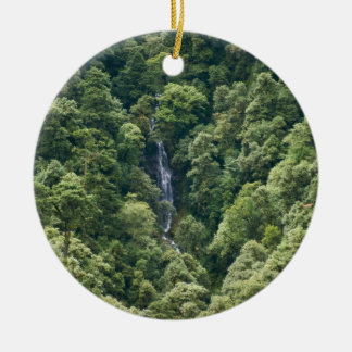 Himalaya forest in the Mangdue valley, Bhutan Christmas Ornament