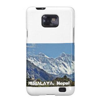 HIMALAYA - One of 1000 views from NEPAL Samsung Galaxy SII Covers
