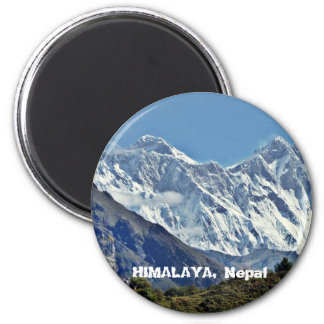 HIMALAYA - One of 1000 views from NEPAL Refrigerator Magnets