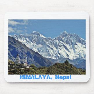 HIMALAYA - One of 1000 views from NEPAL Mousepad
