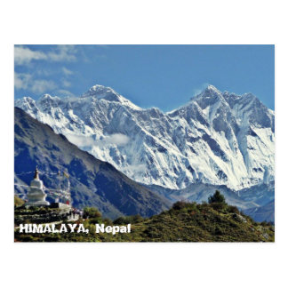 HIMALAYA - One of 1000 views from NEPAL Postcards