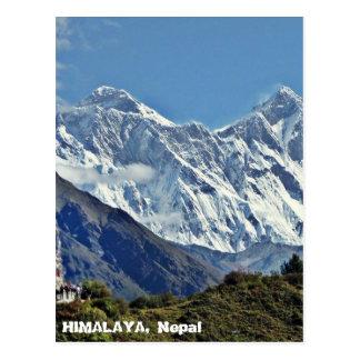 HIMALAYA - One of 1000 views from NEPAL Postcard