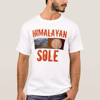 Himalayan Pink Salt Sole T-Shirt