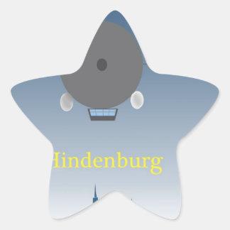 Hindenburg Star Sticker