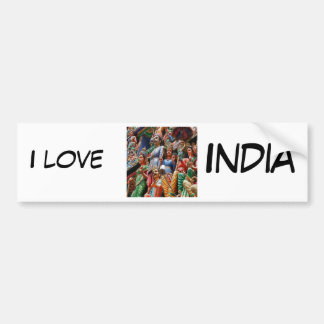 Hindu gods bumper sticker
