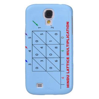 Hindu Multiplication, Hindu Lattice, Sieve Galaxy S4 Case