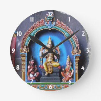 Hindu Shrine, Batu Caves Round Clock