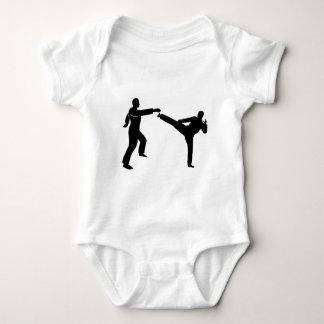 hip hop dancer baby bodysuit
