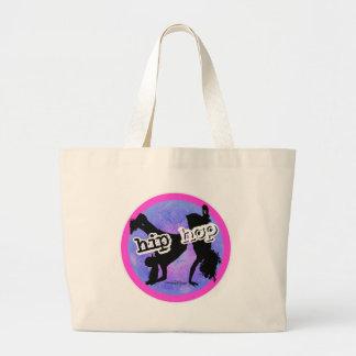 HIP HOP Dancer Large Tote Bag