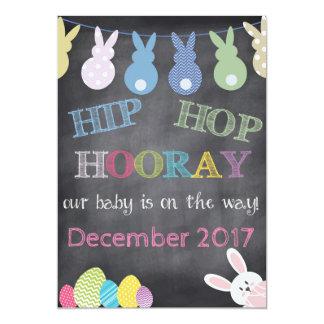 Hip Hop Hooray Easter Pregnancy Announcement