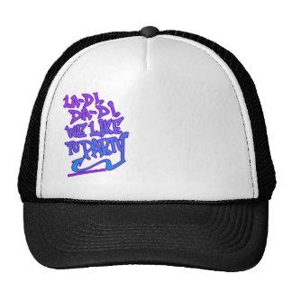 HIP HOP MESH HAT