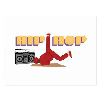 Hip Hop Postcard