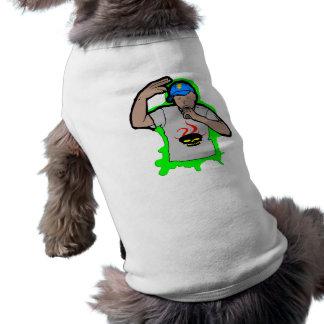 Hip Hop Rap 1 Sleeveless Dog Shirt