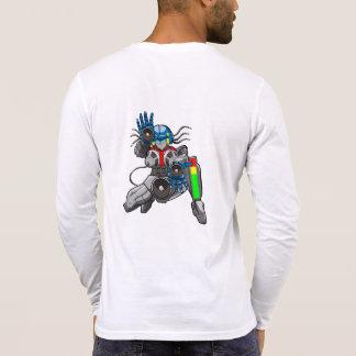 Hip Hop Robotica Henley T Shirt