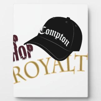 Hip Hop Royalty Plaque