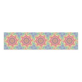 Hippie Kaleidoscope  Pattern Napkin Bands
