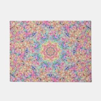 Hippie Pattern Door Mats Doormat