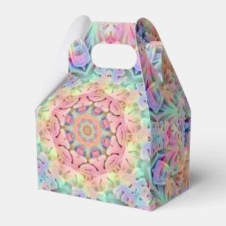 Hippie Pattern Gable Favor Boxes, 5 styles Party Favour Box