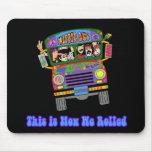 Hippie School Bus Mouse Mats