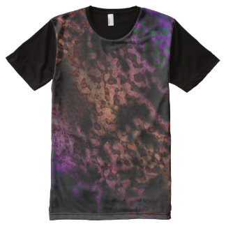 Hippie tie dye sixties retro funk All-Over print T-Shirt