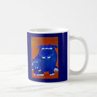 Hippo and Son Coffee Mug