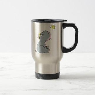 Hippo and Star! Travel Mug
