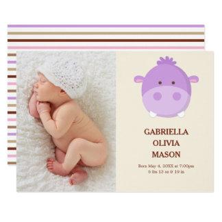 Hippo | Birth Announcement