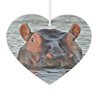hippo car air freshener