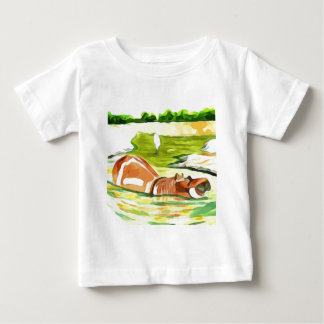Hippo from Safari Baby T-Shirt