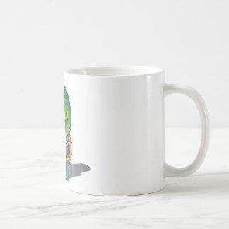 Hippo Graphic Coffee Mug