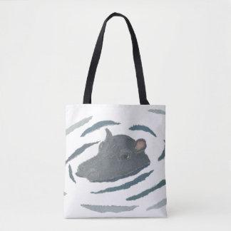 Hippo, Hippopotamus, Wildlife, Animals Tote Bag