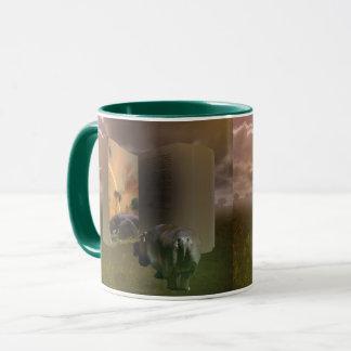 Hippo_Love_Story,_Ringer_Combo_Coffee_Mug Mug
