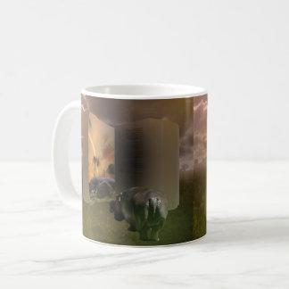 Hippo_Love_Story,_White_Coffee_Mug Coffee Mug