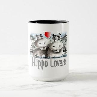 Hippo Lovers Mug