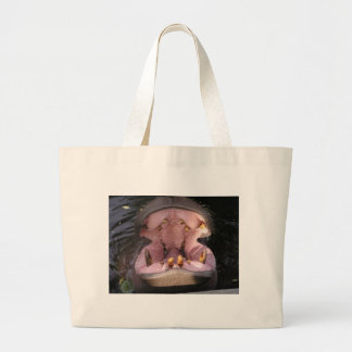 Hippo Mouth Large Tote Bag