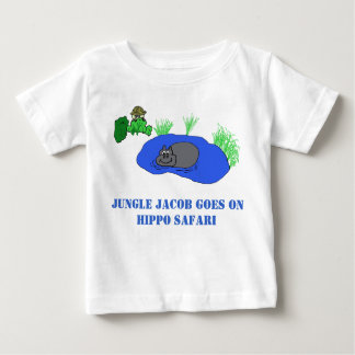 Hippo Safari Baby T-Shirt