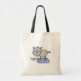 Hippo Stick Figure Bag