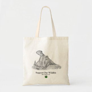 Hippo Tote Bag - Africa Series