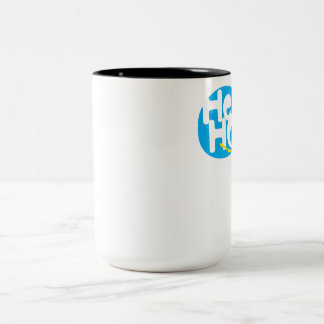 hippo Two-Tone coffee mug