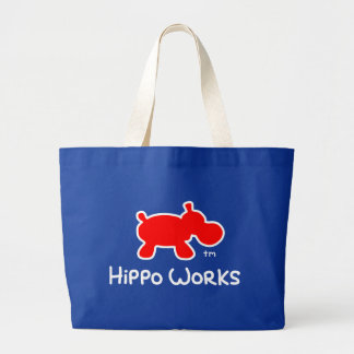 Hippo Works tote bag