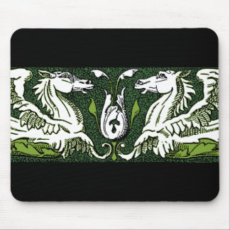 Hippocamps Scroll Mouse Pad