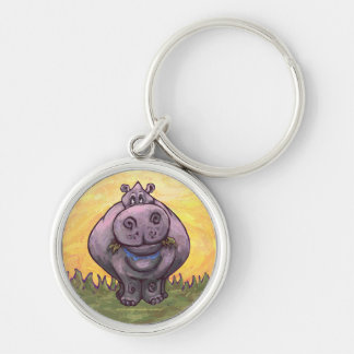 Hippopotamus Gifts & Accessories Key Ring