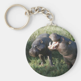 Hippopotamus Key Ring